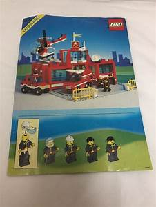 Lego Instructions 6389 Legoland Fire Station Manual Only
