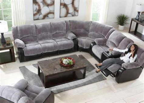 dynamic duo  devon gray sectional collection boasts