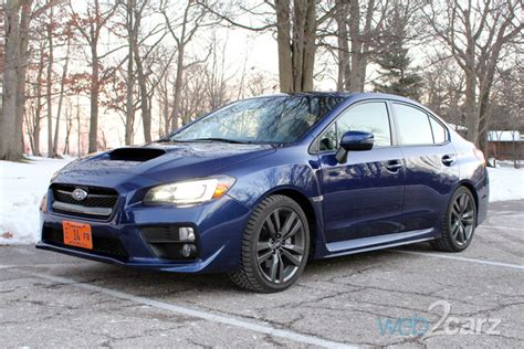 2016 Subaru WRX Limited Review | Web2Carz