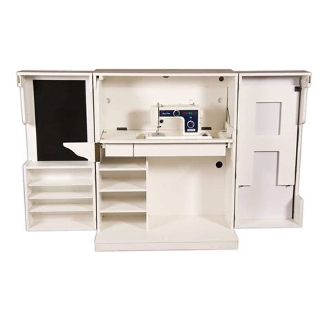 craft and main media cabinet sewing box cutting table sewing machine table thread