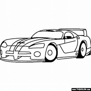 Dodge Viper Coloring Pages - Coloring Home