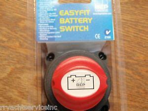 Battery Switch Bep Easy Fit Off Boatingmall Ebay
