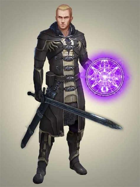 wizard character dnd warrior cartoon imgur characters fantasy