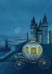 Cinderella Castle Photography Backdrop - Fairy Tale ...