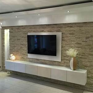 Tv Media Wand : tv wand wohnen pinterest wand tvs and living rooms ~ Sanjose-hotels-ca.com Haus und Dekorationen