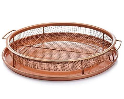 gotham steel  copper air fry crisper tray