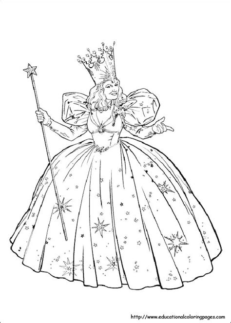 wizard  oz coloring pages   kids