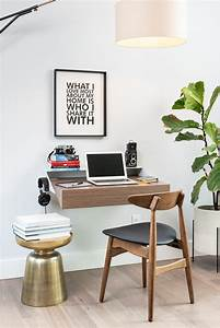 Float, Wall, Desk, Ideas, For, Small, Spaces