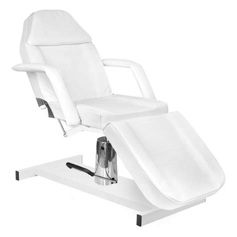 Kosmētikas krēsls HYDRAULIC BASIC WHITE   Hairfree.lt ...