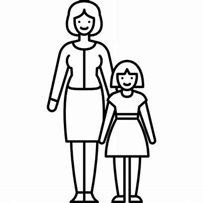 Single Icon Mother Child Svg Icons Children