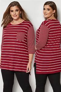 285 25 20 : rot gestreiftes t shirt mit taschen gro e gr en 44 64 ~ Jslefanu.com Haus und Dekorationen