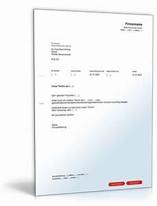 Einspruch Steuerbescheid Begründung : absage eines termins muster vorlage zum download ~ Frokenaadalensverden.com Haus und Dekorationen