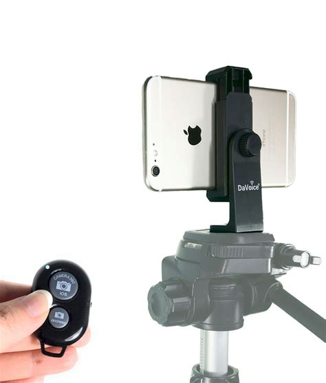 With Remote Iphone Tripod Mount With Remote For Iphone X 8 8 Plus 7 7
