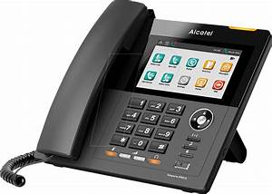 Alcatel Ip901g  Voip Telefon  Schnurgebunden  Schwarz Bei