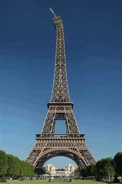 Tower Eiffel Eifel Gifs Torre Paris Tour
