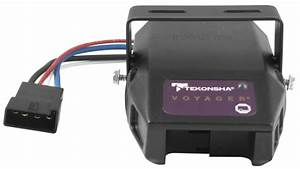 Tekonsha 9030 Voyager Proportional Electronic Brake Controller For 1 To 4 Axle Trailers