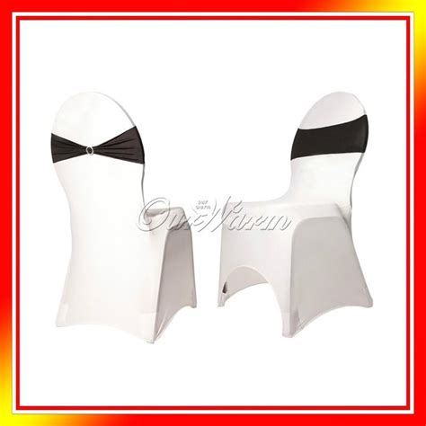 Diy Chair Sash Buckles by Spandex Chair Cover Bands With Ring Buckle Replace