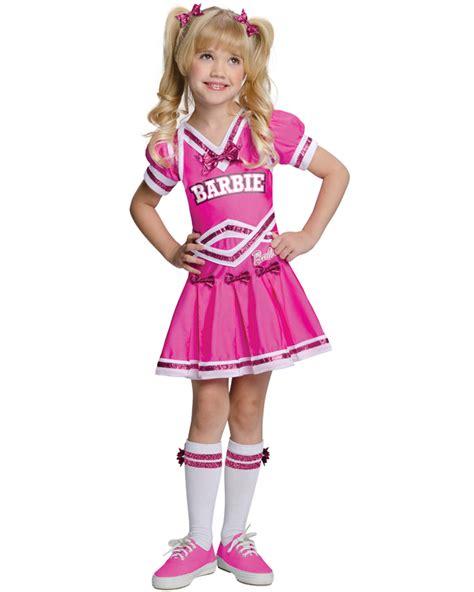 CK513 Barbie Cheerleader Pink Girls Sports Fancy Dress Up Halloween Costume | eBay
