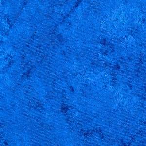 Crushed Panne Velour Royal Blue - Discount Designer Fabric