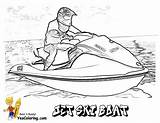 Coloring Boat Boats Jet Ski Pages Yescoloring Printable Printables Army Water Ships Fishing Drawing Cool Skis Sheets Slide Coolest Boating sketch template