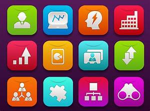 16 Free Ios7 Business Icons  U2013 Graphicloads