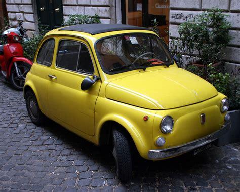 fiat 500 décapotable file fiat 500 jaune jpg wikimedia commons