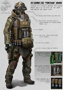 In battle this soldier would carry a Grenade launcher and ...