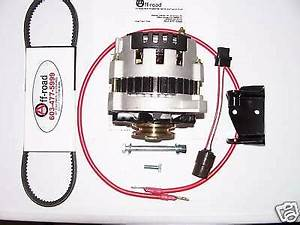 Suzuki Samurai 1 3 Gm 105amp Alternator Kit No Splicing