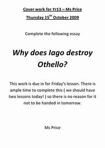 Othello racism essay history dissertation ideas othello racism essay ...