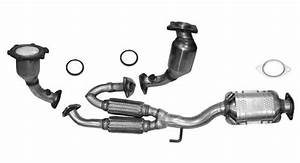 2003 Nissan Murano Exhaust System