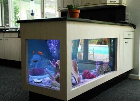 meuble mural cuisine pas cher l aquarium mural en 41 images inspirantes