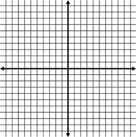 blank coordinate grid  grid lines shown clipart