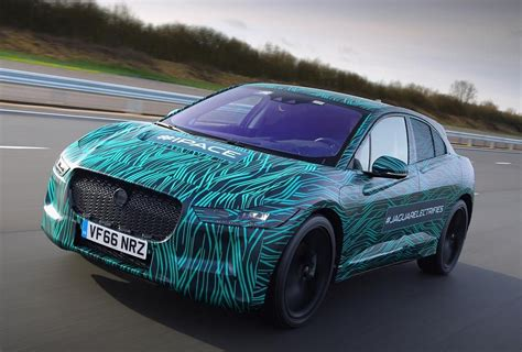 jaguar reveals prototype   pace electric suv