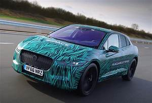 Jaguar Reveals Prototype For I Pace Electric SUV