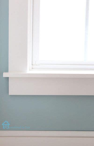 Window Sill Trim by How To Install Window Trim Home Interior Window Trim