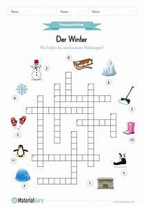 Ein Kunstleder Kreuzworträtsel : ein kostenloses arbeitsblatt zum thema winter auf dem die kinder ein kreuzwortr tsel zum winter ~ Eleganceandgraceweddings.com Haus und Dekorationen