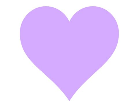Purple Heart Outline Clip Art (48