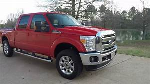 West Tn 2016 Ford F250 Hd Lariat Race Red 6 2l V8 Gas Off