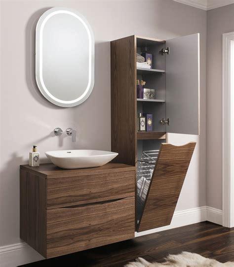 designer bathroom furniture bauhaus glide ii wall hung 1600mm height tower unit