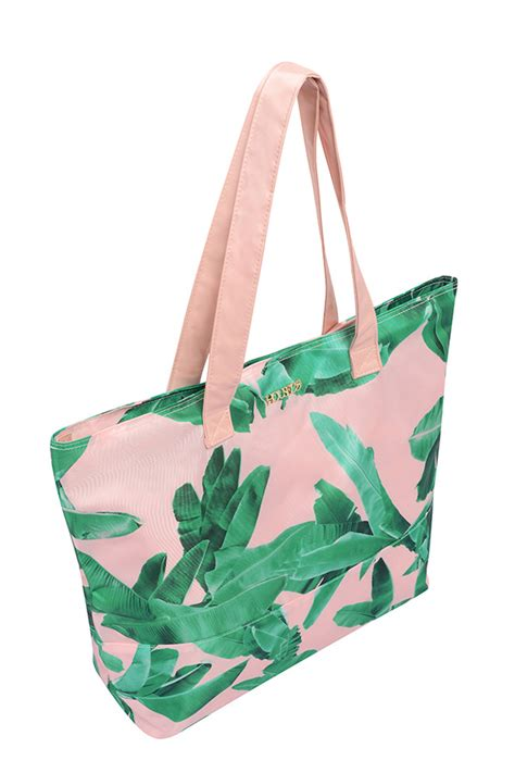 accessories palm print tote bag