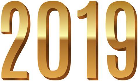 Gold 2019 Png Clip Art