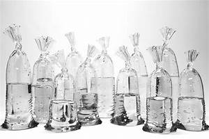 glass sculptures by dylan martinez perfectly imitate water With glass sculptures by dylan martinez