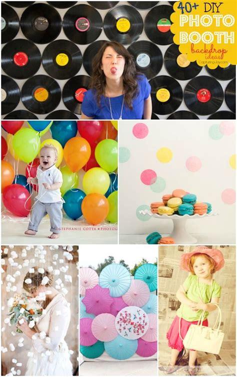 Diy Photo Booth Background Ideas 40 diy photo booth backdrop ideas diy photo booth