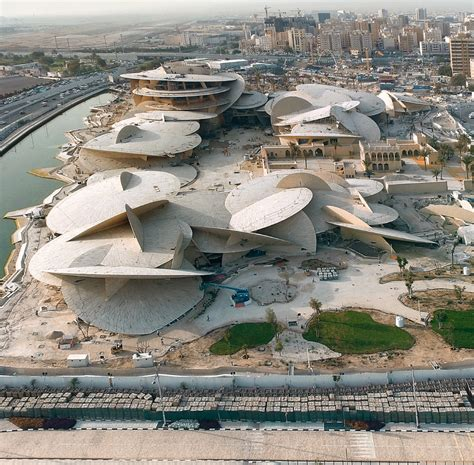 Nationalmuseum Katar In Doha by Jean Nouvel Qatar National Museum In Doha Arquitectura