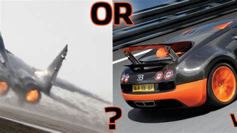 You Have  Million, Do You Buy A Bugatti Veyron Ss Or Mig