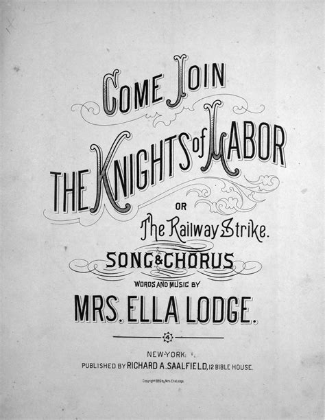join  knights  labor   railway