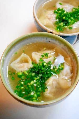 ワンタン スープ レシピ