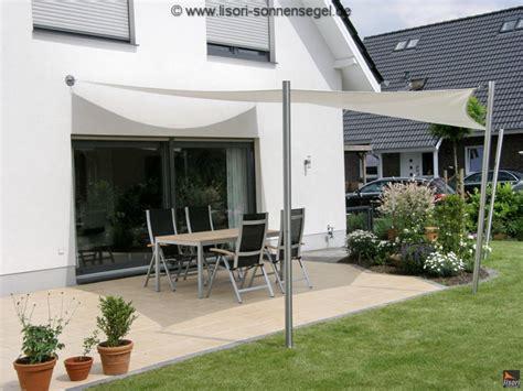 Befestigung Sonnensegel Hauswand by Einfacher Aufbau Optimale Lagerung Ihres Lisori Sonnensegels