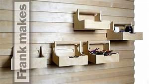 French Cleat Baumarkt : office 3 french cleat storage wall youtube ~ Watch28wear.com Haus und Dekorationen