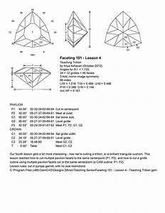 Akhavan - Faceting 101  Lesson 4 - Teaching Trillion